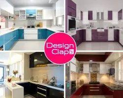 U Shape Modular Kitchen Interior Designing Service
