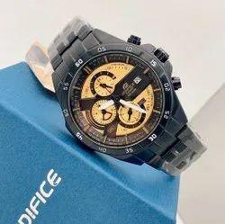 Black Edifice Casio Wrist Watch