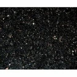 Polished Black Galaxy Granite Slab, For Wall Tile, Countertops, Thickness: 18 MM