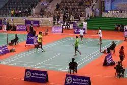 pvc Badminton Court Construction Services, in jaipur