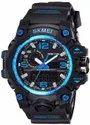 Black Skmei Analog Digital Watch, Model Name/number: 1155