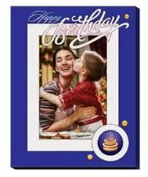 Multicolor Most Loved Wooden Photo Frame, For Gift, Size: 7 X 9