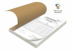 Paper Bill Book Printing Service, For Office, in Tamilnadu