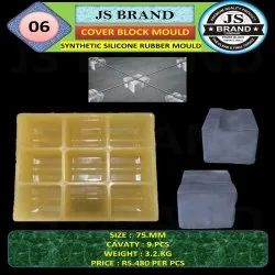 9 Cavity Synthetic Silicone Rubber Mold