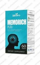 Ssure Memorich Plus+ Capsule for Concentration Enhancer