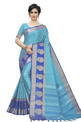 leeza store 6.3 m (with blouse piece) Banarasi Silk Saree