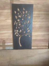 Black Decorative Solid Wood Door, For Home