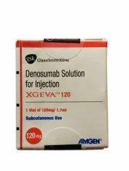Denosumab Solution Xgeva 120mg Injection, Prescription, Treatment: Blood Cancer