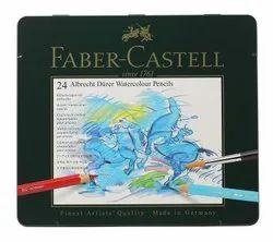 Faber Castell Albrecht Durer Watercolor Pencil Set Pack of 24 (Free Worldwide Shipping)