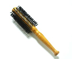 TORA Wooden Round Hair Brush