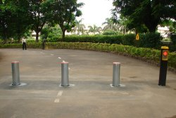 Mild Steel AMC Bollards Maintenance in Mumbai