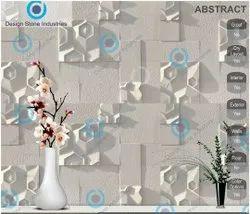 Abstract-Spanish Beige Designer CNC Tiles