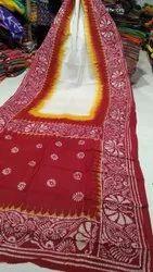 Formal Wear Batik Saree, Length: 5.5 m (without blouse piece)