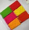 Heavy Border In Nazmin Designer Saree For Women