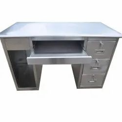 Stainless Steel Computer Tables