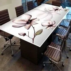 3 Hours Digital Table Top Glass Printing Service, in Pan india