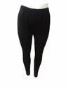 Black Cotton Lycra Leggings, Size: Free Size