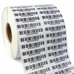 Self Adhesive Barcode Sticker