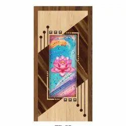 Decorative Wooden Laminated Door