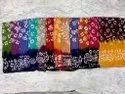 Batick Sarees with blouse Fabric