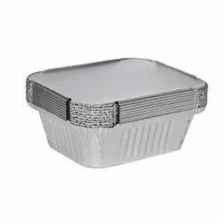 Fraisco Aluminium Foil Containers with Lid (250 ml)