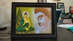 Buddha Photo Frame