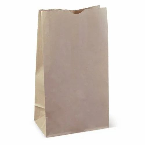 Brown Kraft Paper Bags - SOS 12, For Packaging, Rs 2149 /carton box S.R.  Papers Private Limited | ID: 23259106488