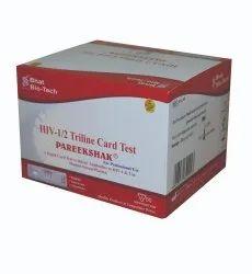 PAREEKSHAK HIV 1/2 Triline Card Test, 50 T