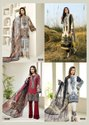 Asifa Nabeel Vol 4 Lawn Cotton Karachi Dress Material Catalog