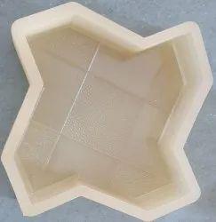 Tile Mold Star PVC Paver Module