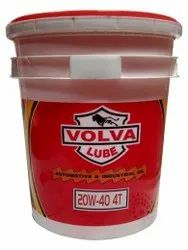 20 L Volva Lube 20W40 4T Plus Bike Engine Oil, Packaging Type: Bucket