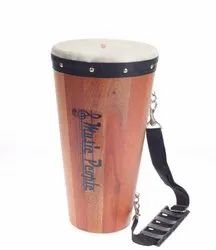 Music People Wooden Congo Drum with Sticks ideal Percussion Drum for Solo Performance