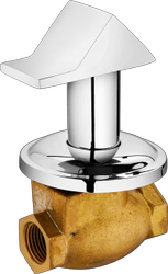 Brass Plantex Prime Flush Cock With Adjustable Wall Flange 25 Mm. (H.T.)