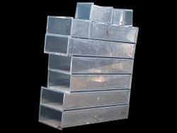 Rectangular Stainless Steel Exhaust Ducts, For Commercial