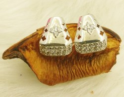 Shreeji Jewellers Women Triangle Shape Earring Jeweler, 5