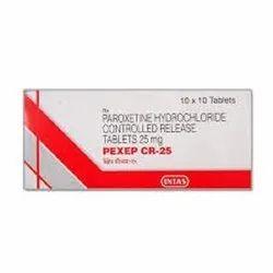 Pexep CR 25mg Tablets