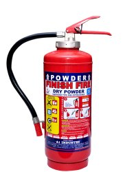 Dry Powder Cartridge Type Extinguishers, Capacity: 6kg