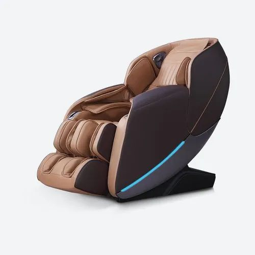 Brown PU Leather Massage Chair