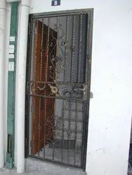 Mild Steel Grill Door, For Residential, Size: 6 X 3.5 Feet(h X W)