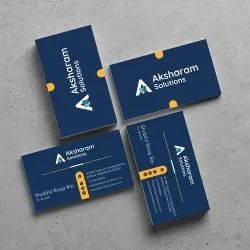 Offset Paper Business Card Printing Services, In Pan India