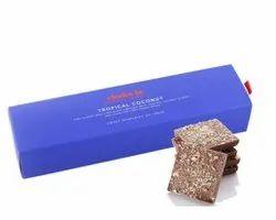 Rectangular Chokola Tropical Coconut Chocolate Bar