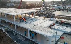Concrete Frame Structures Marble Luxury Hospital Construction