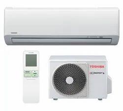 3 Star Toshiba Split Air Conditioner Unit, Coil Material: Copper