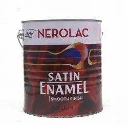 Brown Nerolac Satin Enamel Paint