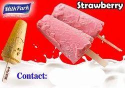 Mikpark Strawberry Kulfi