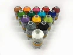 Viscot Dyed Viscose Embroidery Threads, Packaging Type: Y Cones