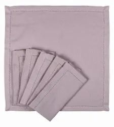 AJS Living Dinning Napkins Pure Cotton Table Napkin Cloth For Dinner, (set Of 6)