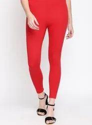 Gunja Textiles Ankel length Lycra Ladies Legging
