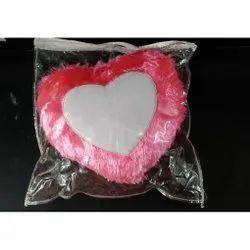 Fur Sublimation Cushion Pink