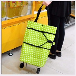 Polyester Trolley Luggage Bags